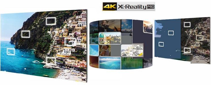 موتور پردازشگر 4K X-Reality ™ PRO