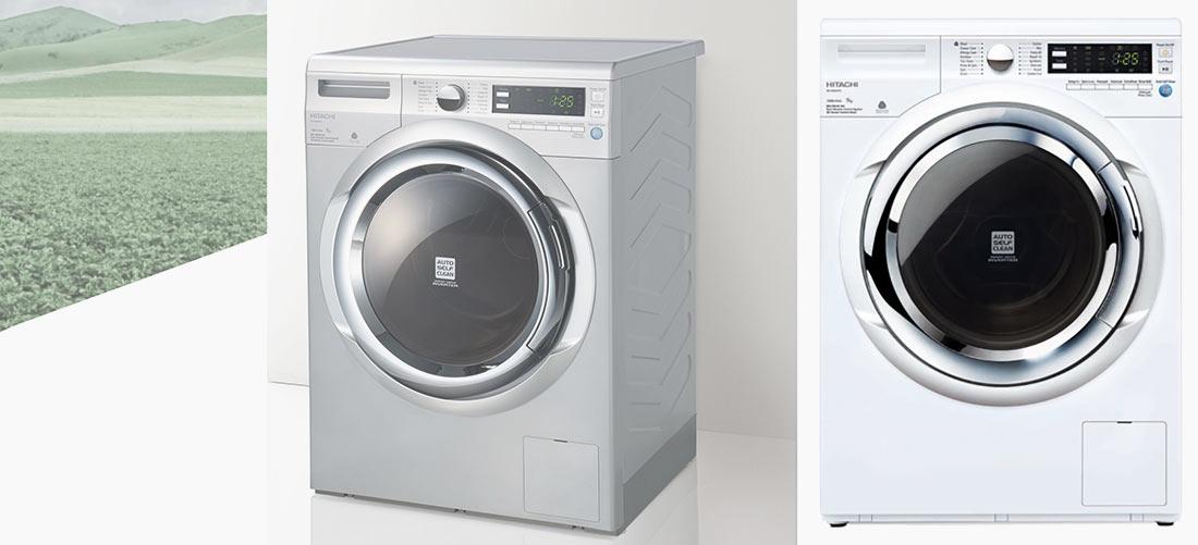 ماشین لباسشویی هیتاچی HITACHI BD-W90XWV با ظرفیت 9 کیلوگرم